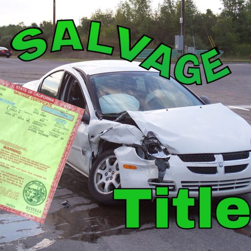 Salvage title palmdale ca
